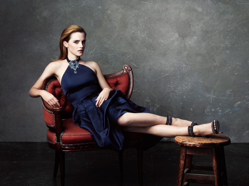 emma watson images3 Emma Watson Dazzles in NET A PORTER Shoot Featuring Eco Friendly Fashion