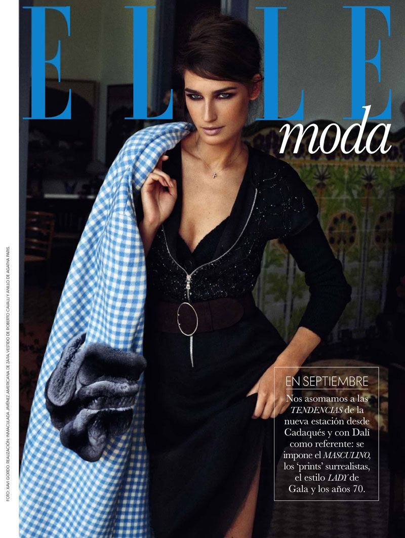 eugenia xavi gordo1 Eugenia Volodina Gets Glam for Xavi Gordo in Elle Spain October 2013