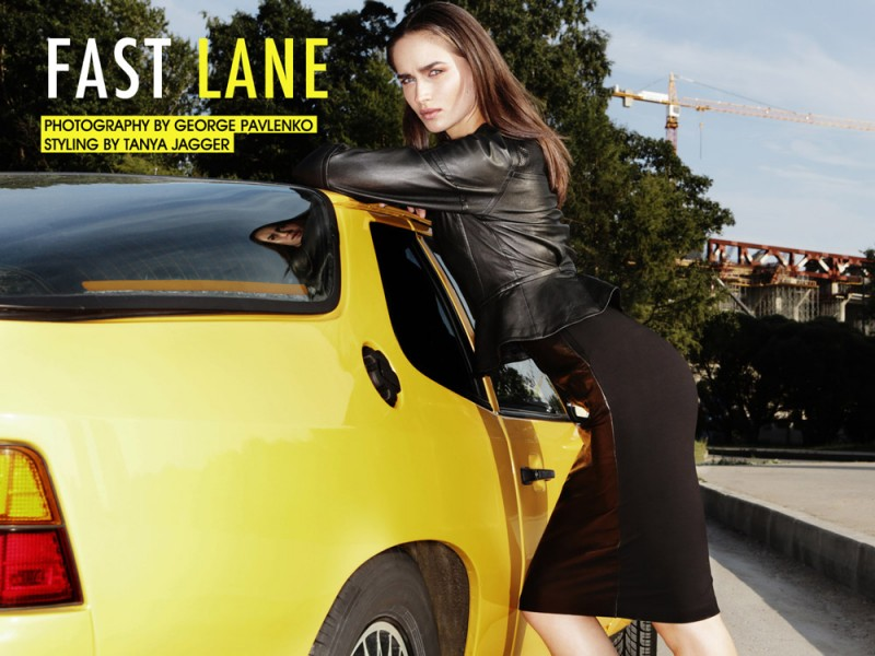 "Evgenia Fedoseeva by George Pavlenko in ""Fast Lane"" for Fashion Gone Rogue"