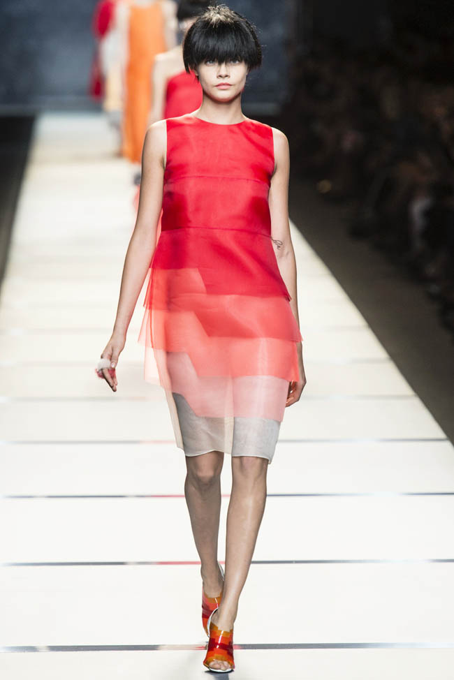 fendi spring 2014 1 Fendi Spring 2014 | Milan Fashion Week
