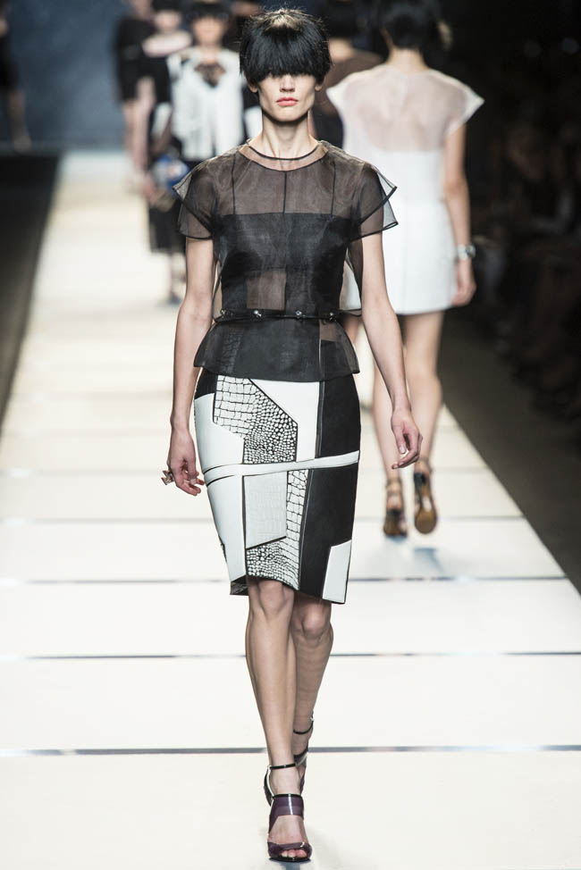 fendi spring 2014 27 5 Amazing Milan Fashion Week Spring/Summer 2014 Trends