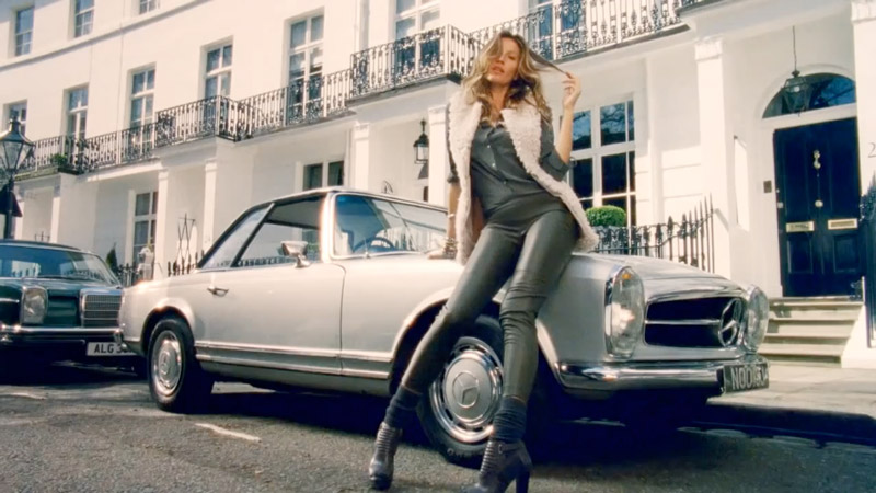 gisele hm sing Watch Gisele Bundchen Sing and Model in New H&M Film