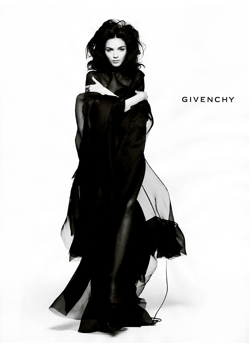 givenchy fall 2005 advertisement TBT | Mariacarla Boscono for Givenchy Through the Years