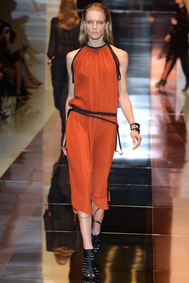 gucci Milan Fashion Week Spring/Summer 2014 Day 1 Recap | Alberta Ferretti, Dsquared2, Gucci + More