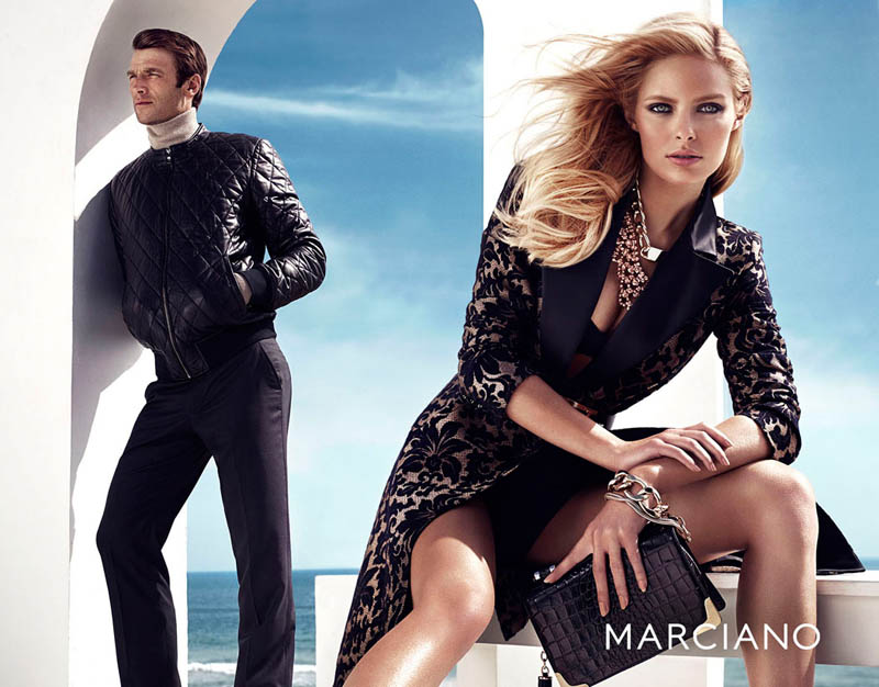 guess marciano fw7 Hunter & Gatti Shoot Guess by Marcianos Glam Fall 2013 Campaign