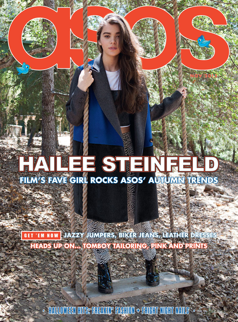 haileee steinfeld asos1 Hailee Steinfeld Is a Nature Girl for ASOS Magazine November 2013
