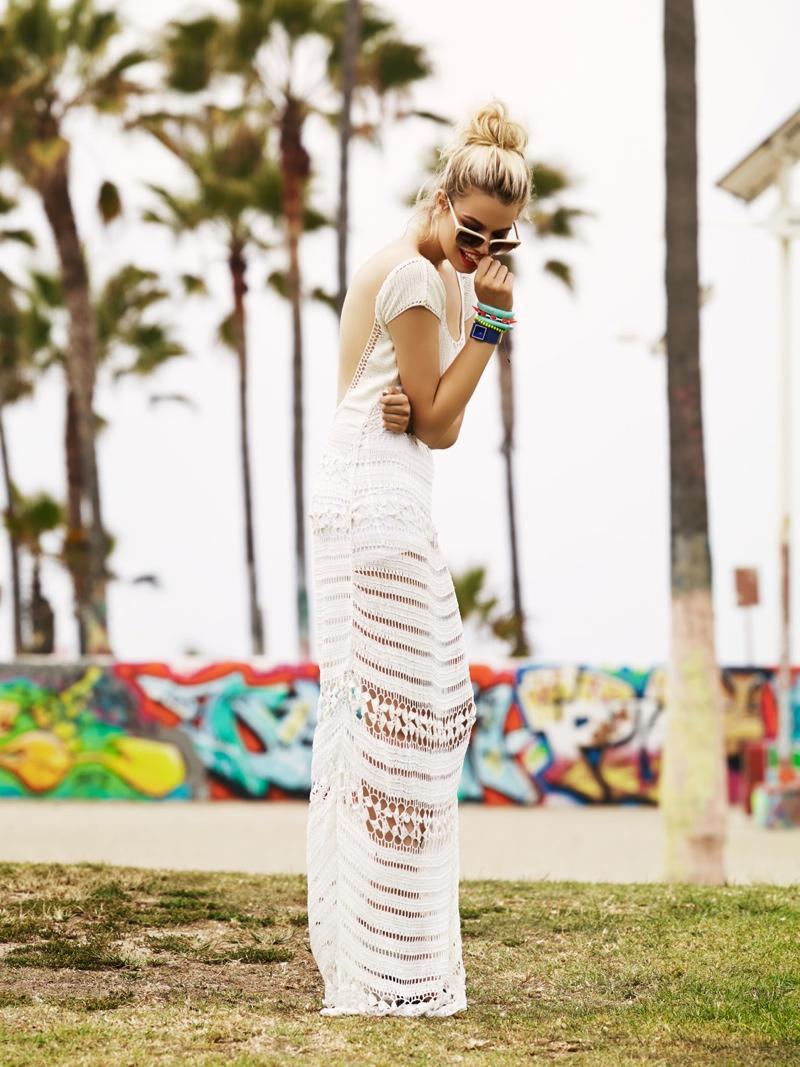 Hailey Clauson Hits Venice Beach for Lovers + Friends Spring 2014 Lookbook