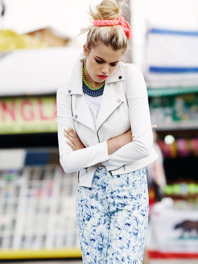 hailey lovers friends8 Hailey Clauson Hits Venice Beach for Lovers + Friends Spring 2014 Lookbook