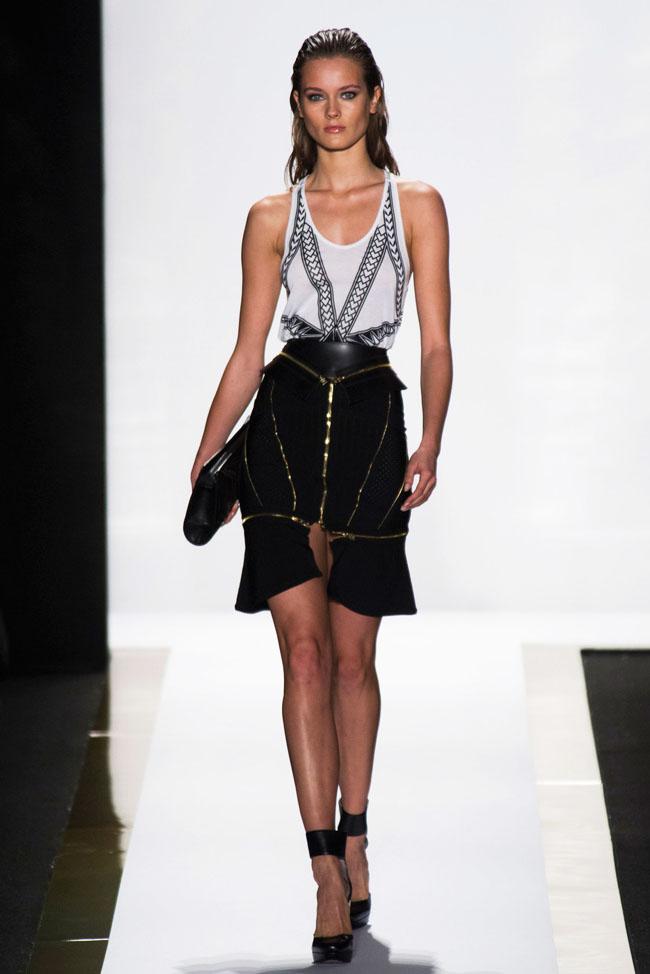 Herve Leger by Max Azria Spring 2014 | New York Fashion Week