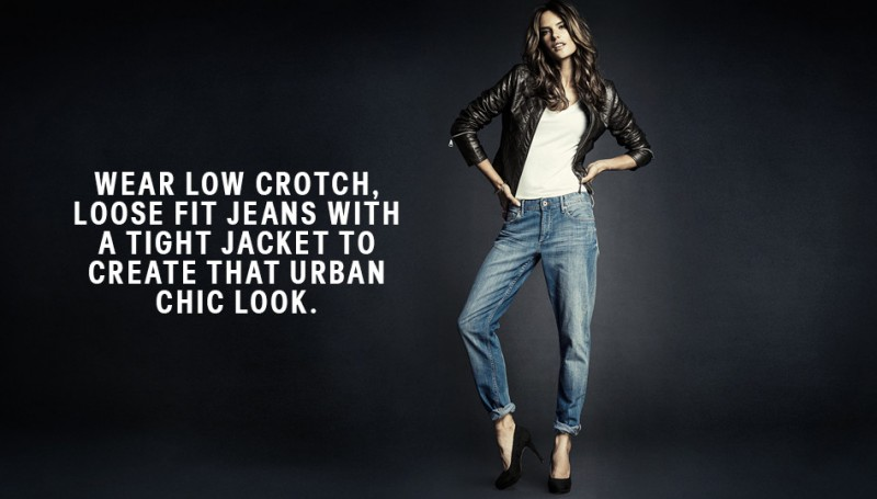 hm denim2 800x455 Alessandra Ambrosio is Hot in H&M Divided Denim