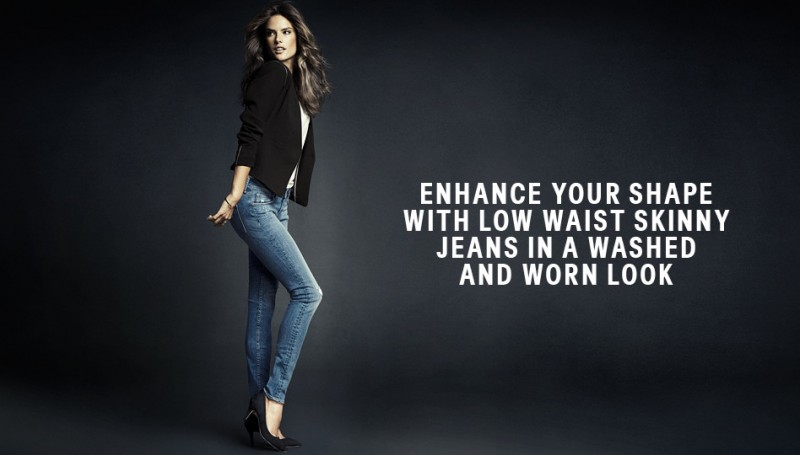 hm denim3 800x455 Alessandra Ambrosio is Hot in H&M Divided Denim