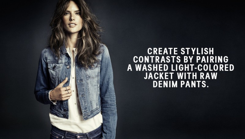 hm denim4 800x455 Alessandra Ambrosio is Hot in H&M Divided Denim