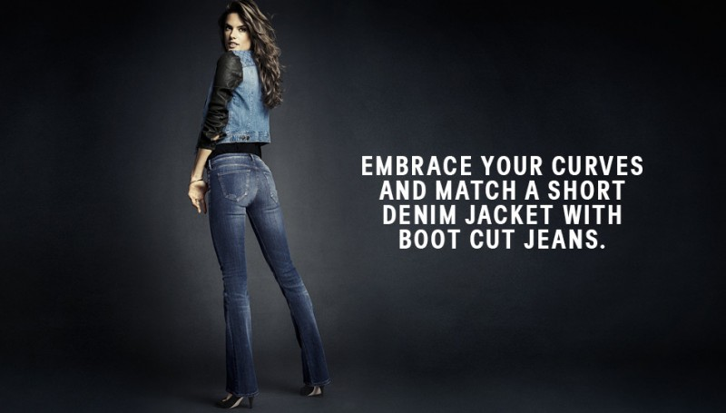 hm denim6 800x455 Alessandra Ambrosio is Hot in H&M Divided Denim