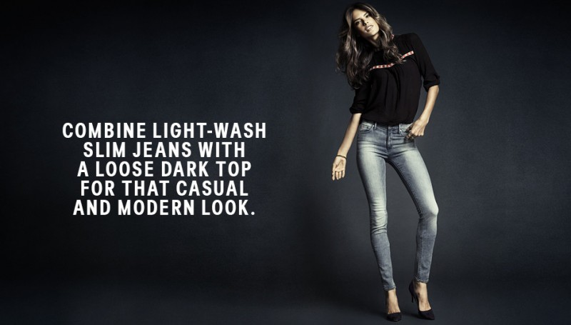 hm denim7 800x455 Alessandra Ambrosio is Hot in H&M Divided Denim
