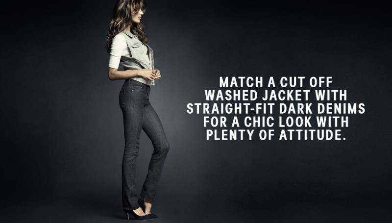 hm denim8 800x455 Alessandra Ambrosio is Hot in H&M Divided Denim