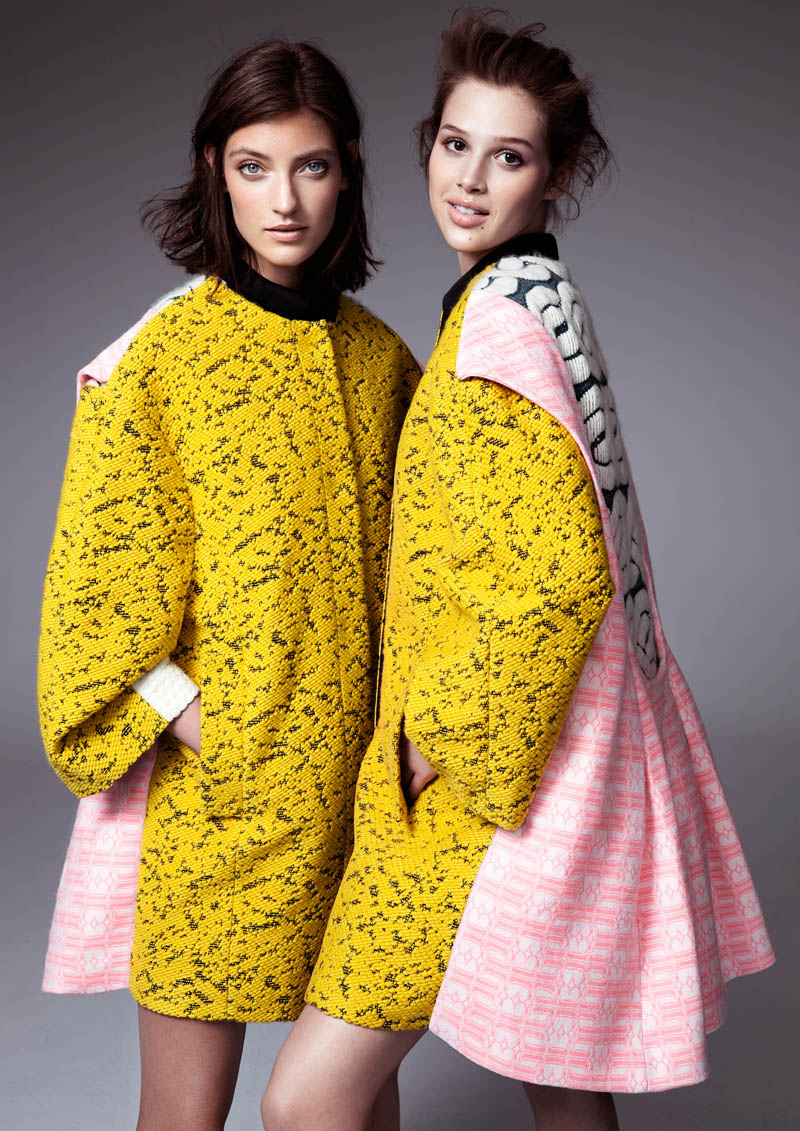 hm fashion minju kim8 Anais Pouilot & Marikka Juhler Wear the 2013 H&M Design Award Winners Collection