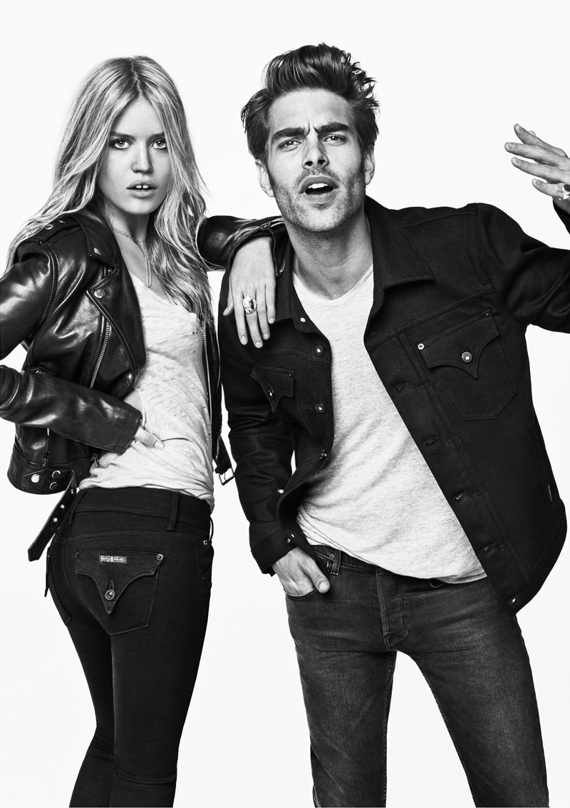 Georgia May Jagger Rocks Hudson Jeans' Fall 2013 Campaign