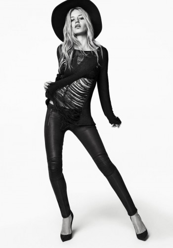 Georgia May Jagger Rocks Hudson Jeans' Fall 2013 Campaign