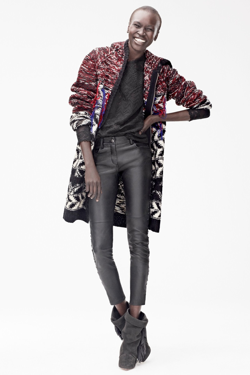 isabel marant hm lookbook1 See the Isabel Marant for H&M Fall Lookbook