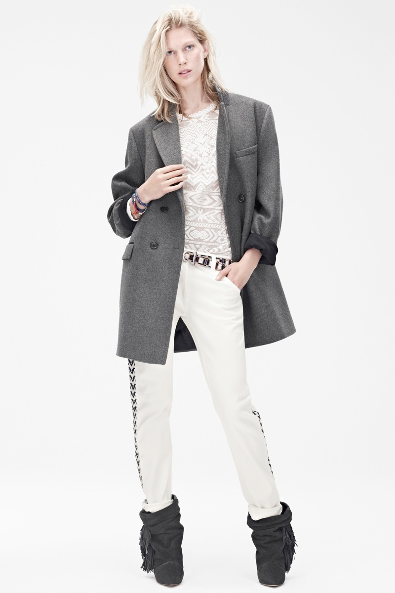 See the Isabel Marant for H&M Fall Lookbook