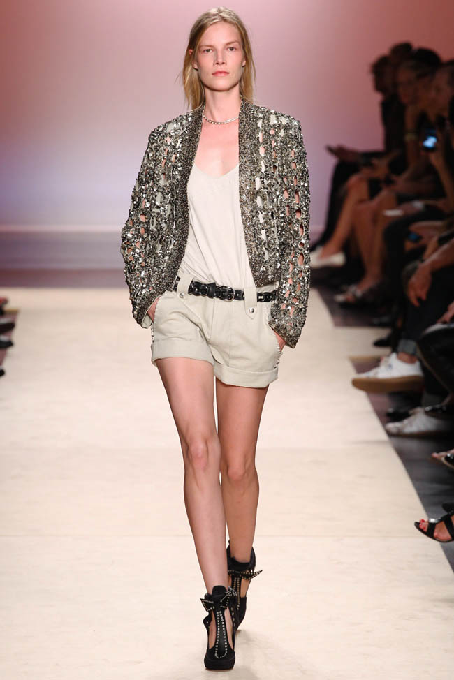 isabel marant spring 2014 36 Paris Fashion Week Spring/Summer 2014 Day 4 Recap | Dior, Isabel Marant, Sonia Rykiel + More