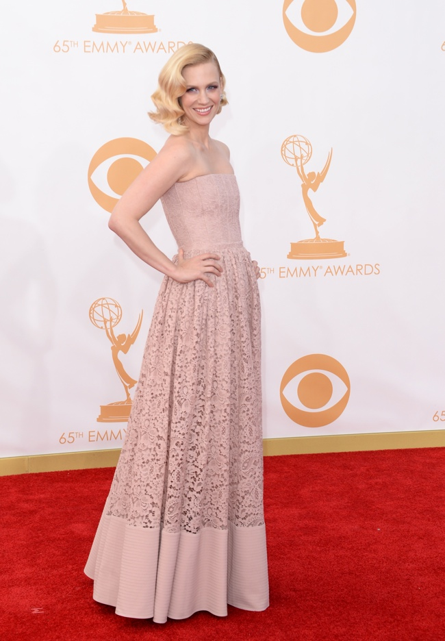 january jones givenchy Kerry Washington in Marchesa, Claire Danes in Armani + More EMMY Award Style
