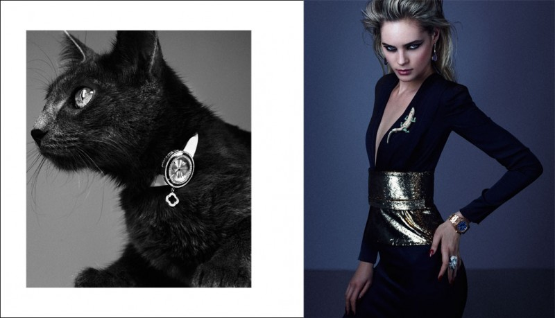 Juju Ivanyuk Turns Cat Lady for Xavi Gordo's Rabat Magazine Cover Story