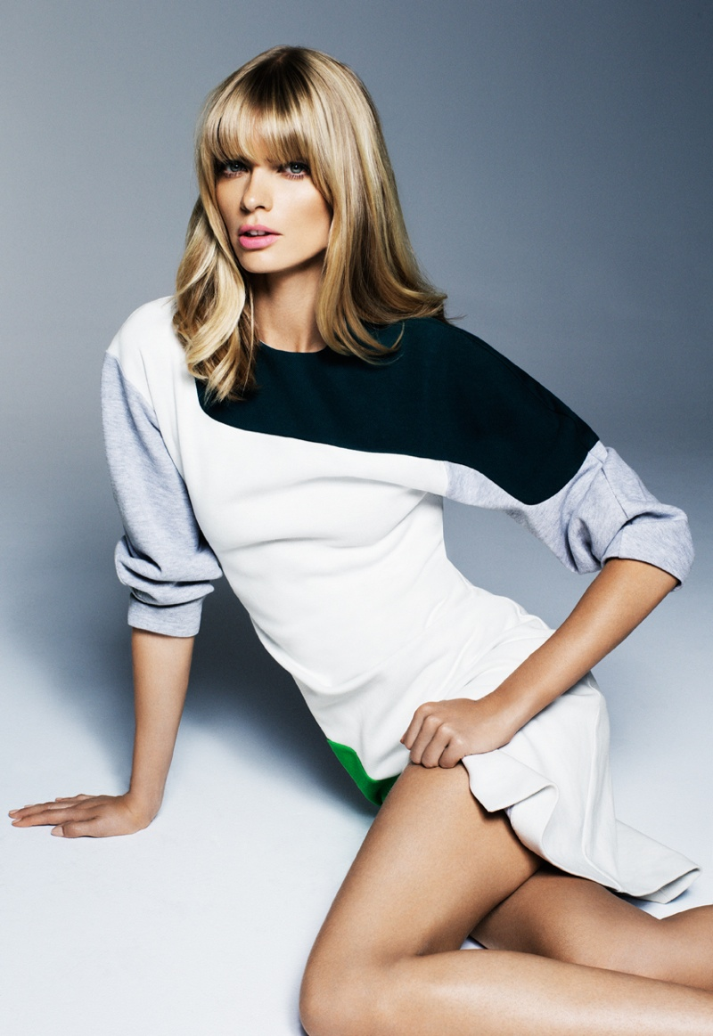 julia stegner shoot10 Julia Stegner Shines in the September Issue of Grazia Germany