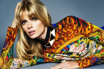Julia Stegner Shines in the September Issue of Grazia Germany