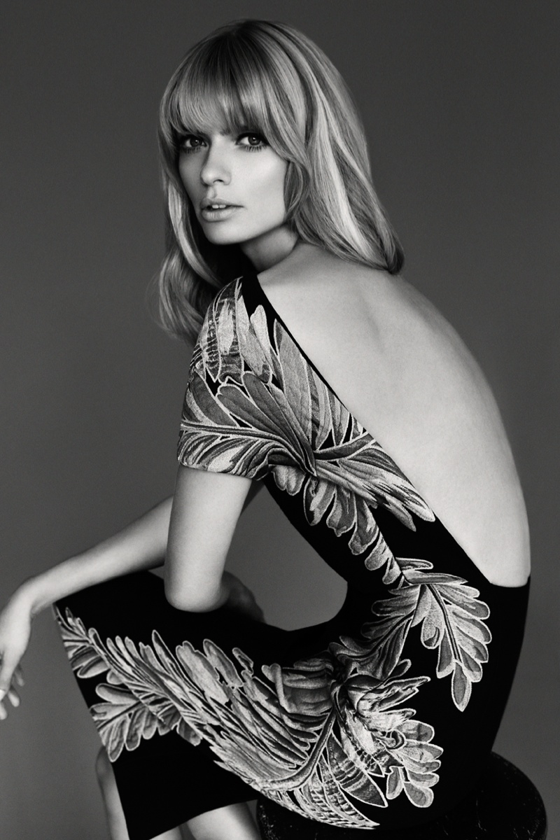julia stegner shoot4 Julia Stegner Shines in the September Issue of Grazia Germany