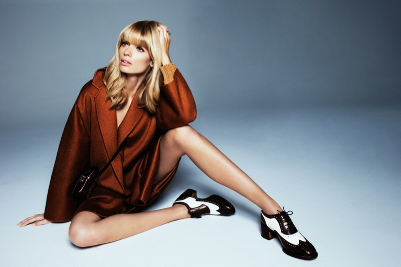 julia stegner shoot5 Julia Stegner Shines in the September Issue of Grazia Germany