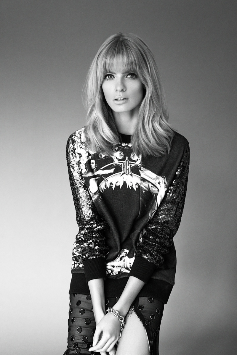 julia stegner shoot9 Julia Stegner Shines in the September Issue of Grazia Germany