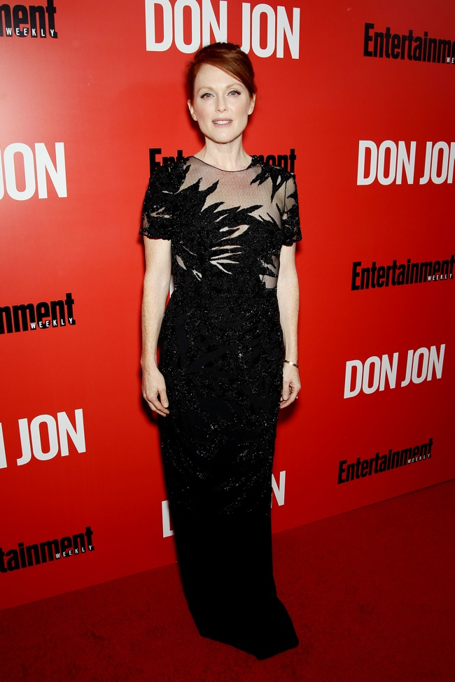 julianne moore jason wu1 Julianne Moore Wears Jason Wu to the Don Jon NYC Premiere