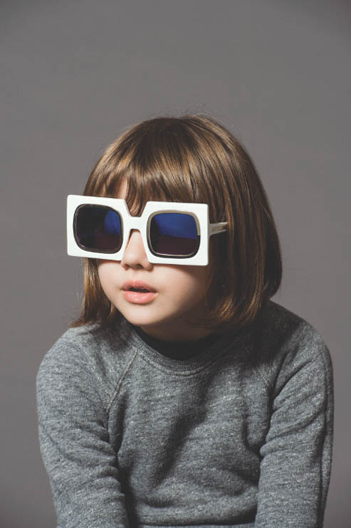 Cute Kids Front New Karen Walker Eyewear Advertising Campaign