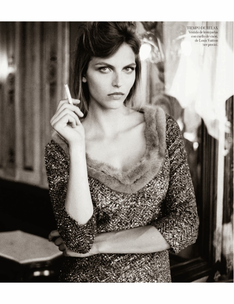 karlina caune shoot4 Karlina Caune Wears Louis Vuitton for Quentin de Briey in Vogue Spain Shoot