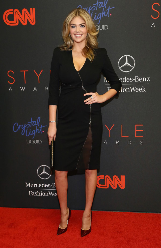 Kate Upton Wears Altuzarra at the 2013 Style Awards in NYC