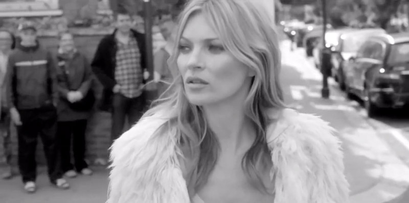 Kate Moss' Boots Are 'Made for Walking' in New Stuart Weitzman Film
