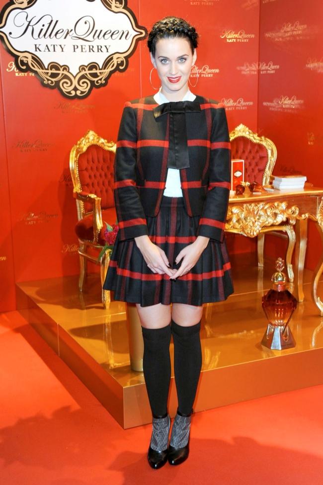 "Katy Perry Wears Alice + Olivia at Her ""Killer Queen"" Fragrance Launch in Berlin"
