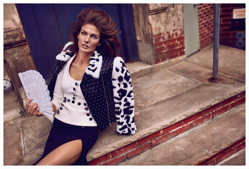 Kendra Spears Stars in Vogue Mexico's October Issue by Koray Birand