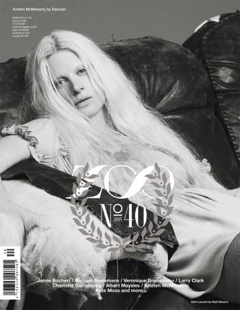 Kate Moss, Kristen McMenamy, Jamie Bochert + Charlotte Gainsbourg Cover Zoo #40