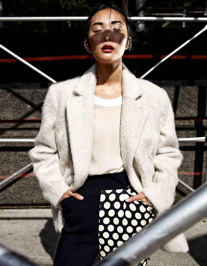 kwak ji young2 Kwak Ji Young Goes Downtown for Elle Taiwan Shoot by Zoltan Tombor