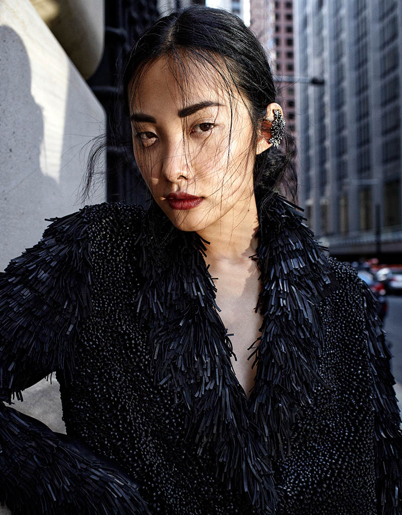 kwak ji young9 Kwak Ji Young Goes Downtown for Elle Taiwan Shoot by Zoltan Tombor