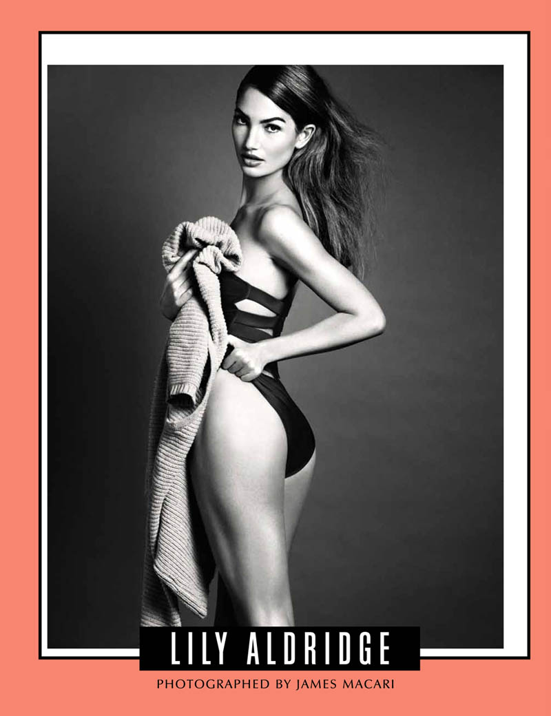 lily aldridge model2 Lily Aldridge Works It for Galore Magazine #4