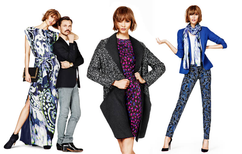 lindex fall ads1 Karlie Kloss Joins Matthew Williamson for Lindex Fall 2013 Campaign