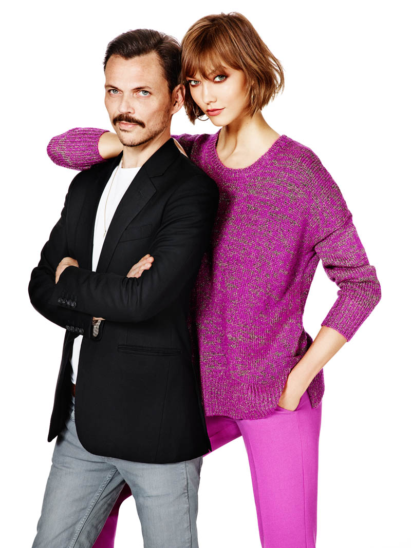 lindex fall ads2 Karlie Kloss Joins Matthew Williamson for Lindex Fall 2013 Campaign