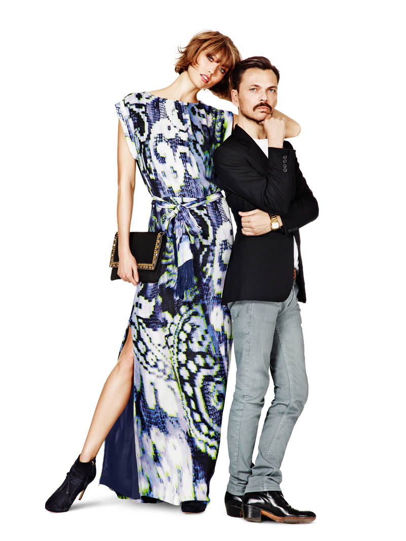 lindex fall ads5 Karlie Kloss Joins Matthew Williamson for Lindex Fall 2013 Campaign