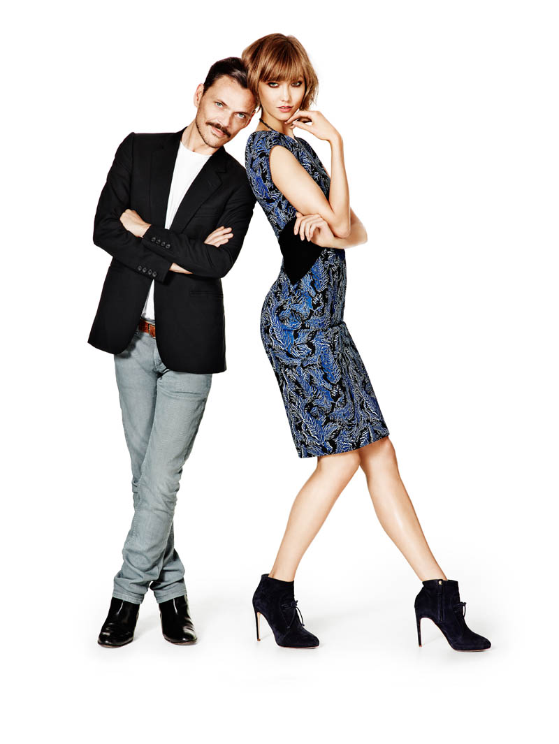 Karlie Kloss Joins Matthew Williamson for Lindex Fall 2013 Campaign
