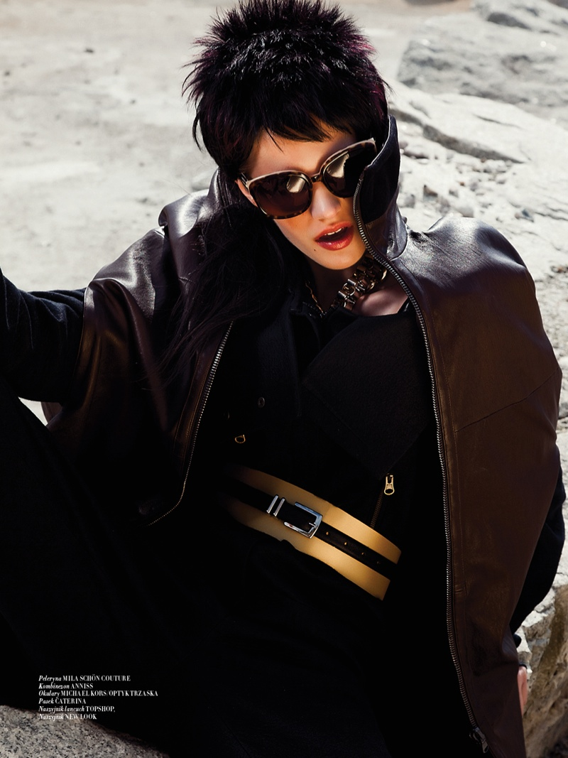 mad max couture3 Asia Piwka Dons Mad Max Couture for Glamour Poland by Michal Kar