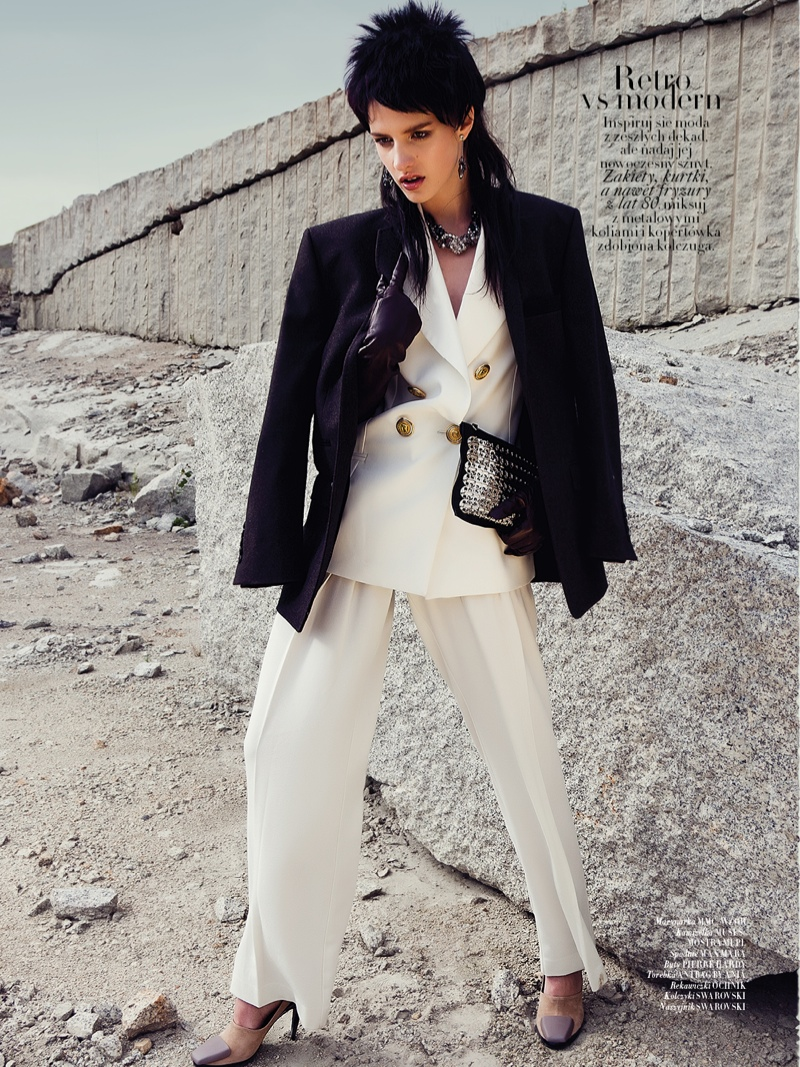 mad max couture4 Asia Piwka Dons Mad Max Couture for Glamour Poland by Michal Kar