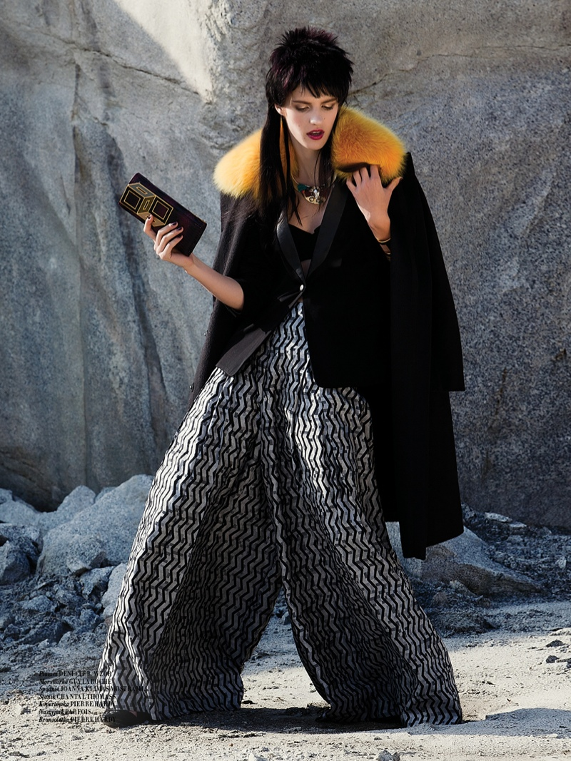 mad max couture5 Asia Piwka Dons Mad Max Couture for Glamour Poland by Michal Kar